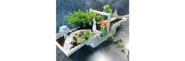 Elfen/ Diorama / Minigarten Miniaturen