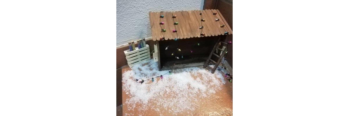 Und das werkeln geht weiter... - Elfentür Feeentür Zaubertür Tür für Elfen Weihnachtself Vorweihnachtszeit