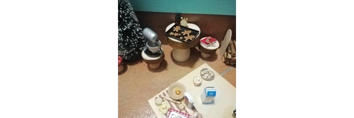 Backen mit dem Elf - Elfentür Feeentür Zaubertür Tür für Elfen Weihnachtself Vorweihnachtszeit