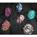 Vaessen Wire curling Jewwellery Draht Set in blau-silber...