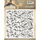 Embossing Folder - Amy Design - Its the Mans World...