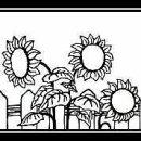 Prägeschablone   Embossing Folder Sunflowers...
