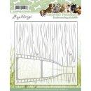 Embossing Folder - Amy Design - Animal Medley 15,4x15,2...