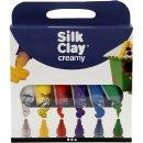 6  creamy Silk Clay - Set  Modelliermasse kräftige...