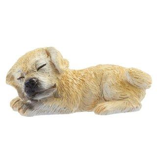 Streudeko Deko Miniatur Minigarten Puppenhaus Diorama Tiere Haustier Hund Welpe