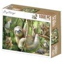Amy Design Puzzle 1000 TeileWild Animals Faultier...
