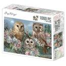 Amy Design Puzzle 1000 Teile 3 romantic Owls Eulen bei...