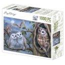 Amy Design Puzzle 1000 Teile Amazing Owls Eulen bei...