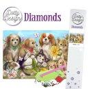 Dotty Design Diamonds Pets Hund Katze Hase...